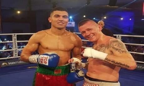 Boxe: Mohamed Rabii ajoute une neuvième victime à sa liste