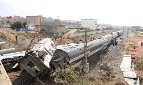 Déraillement à Bouknadel : le conducteur du train libéré