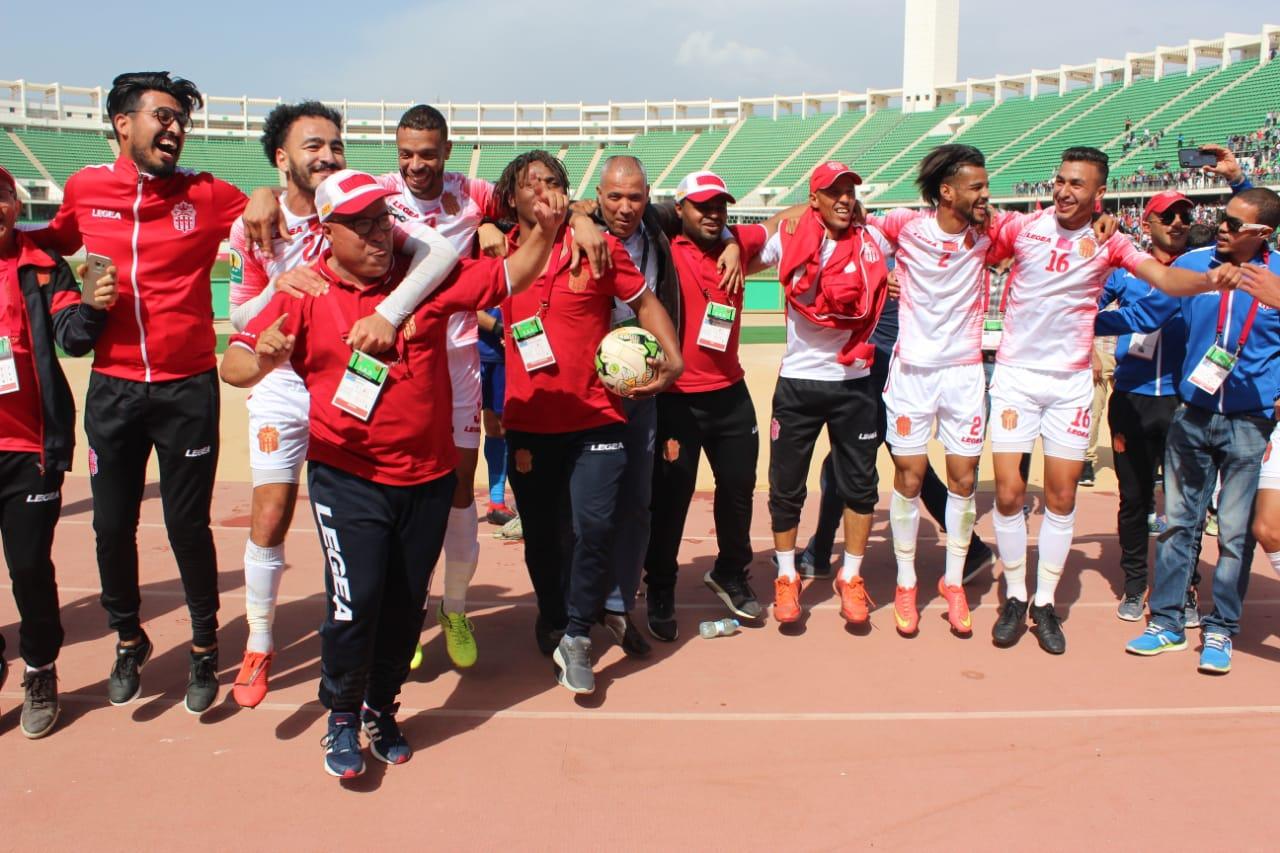 Le Hassania d'Agadir rejoint la Renaissance de Berkane en quart de finale