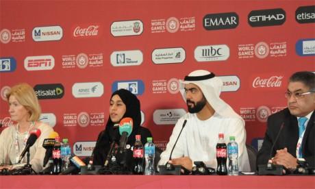 Coup d'envoi à Abu Dhabi de la 15e édition des Jeux mondiaux