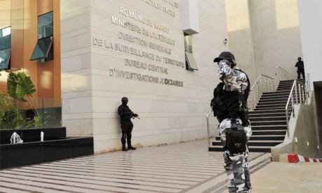 Démantèlement d'une cellule terroriste dans plusieurs villes du Royaume