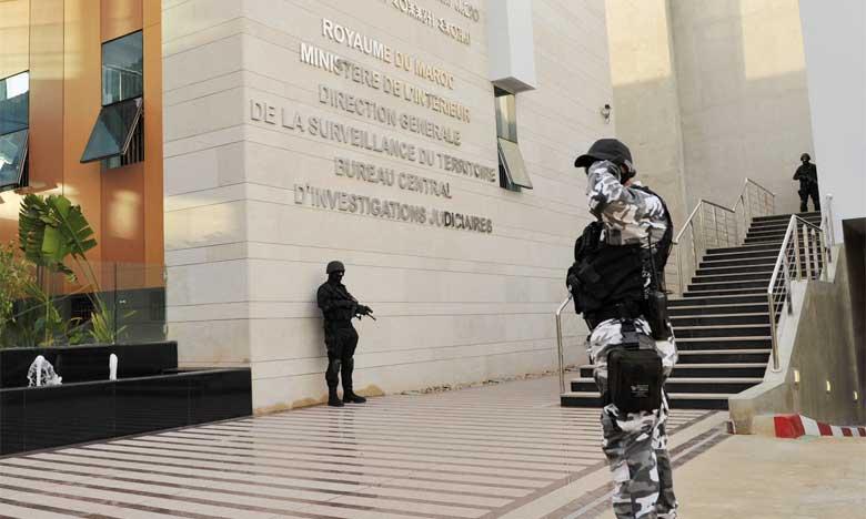 Démantèlement d'une cellule terroriste active dans plusieurs villes du Royaume