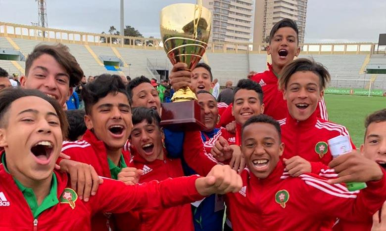 Tournoi de l'Unaf:   Les U15 marocains remportent le titre