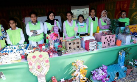 Remise du Pavillon Vert aux établissements de Casablanca-Settat
