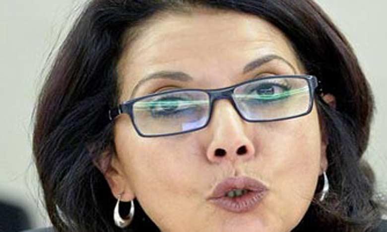 Najat Maalla M'jid, experte des droits de l'enfant auprès  de l'ONU et fondatrice de l'association «Bayti»