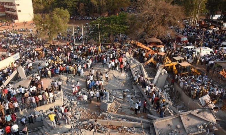 Effondrement d'un bâtiment en Inde, trois morts et plusieurs disparus
