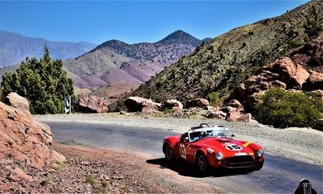 Christophe Figaret et Alain Raynal survolent la 26e édition au volant de la Shelby Cobra