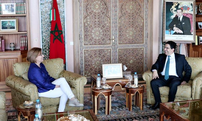 «Le Maroc est un pays clé pour les relations multidimensionnelles de l'UE avec le reste du monde», a souligné Elena Valenciano, eurodéputée. Ph : MAP