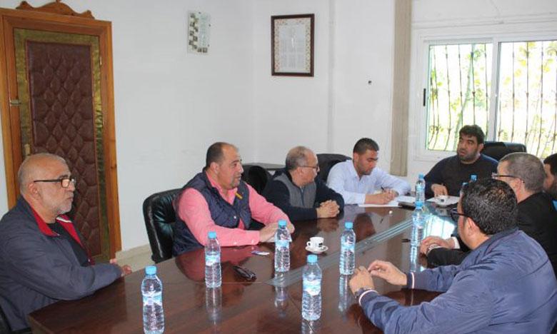 Le comité directeur du MAT.