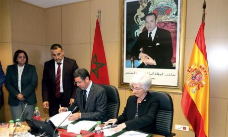 Signature à Rabat d'un mémorandum d'entente en matière de coopération judiciaire