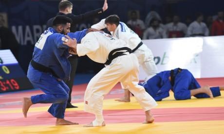 Cinq médaillés olympiques à Marrakech Grand Prix de judo