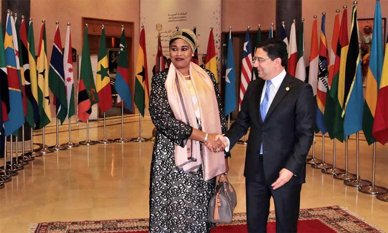 Les ministres des Affaires étrangères des pays africains adoptent la Déclaration de Marrakech
