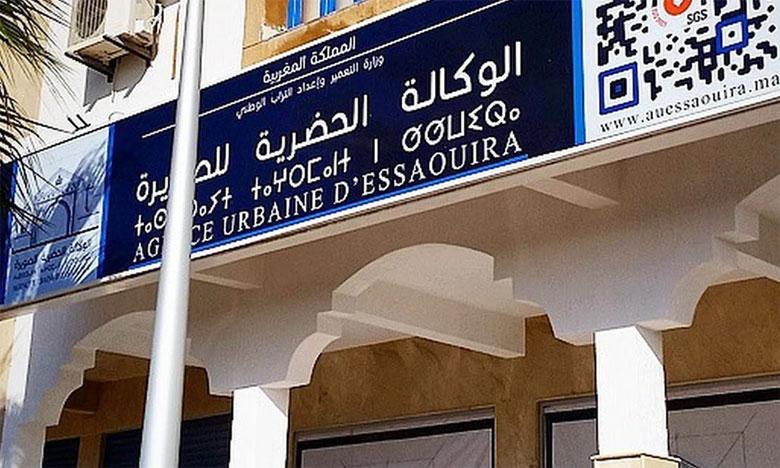 La cérémonie de signature des deux conventions de partenariat s'est déroulée au siège de l'Agence urbaine.