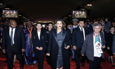 S.A.R. la Princesse Lalla Meryem préside la cérémonie de célébration de la Journée internationale de la femme
