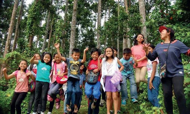 L'un des projets, doté de 1 million d'euros sur une durée de trois ans, est destiné aux enfants âgés de 9 à 12 ans,  en Tanzanie et aux Philippines. Ph. FAO