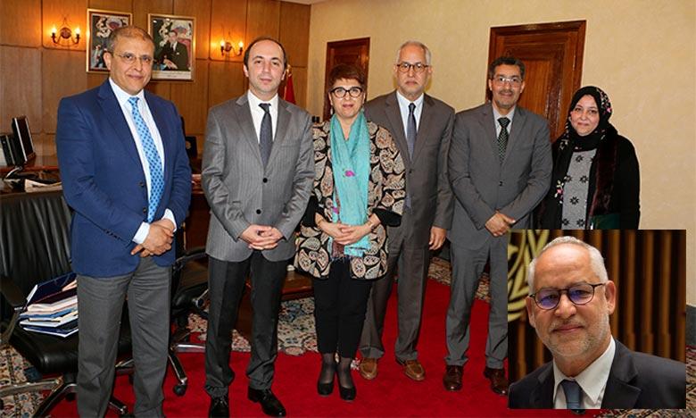 Dr Jaouad Mahjour occupait auparavant le poste de directeur régional de l'OMS pour la Méditerranée orientale par intérim ainsi que le poste de directeur de la gestion des programmes au sein du Bureau régional de la Méditerranée orientale. Ph : DR