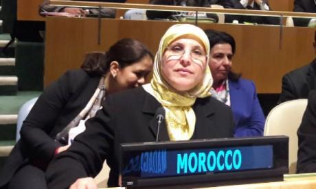 le Maroc organise un side event à New York sur  la question de la protection sociale des femmes