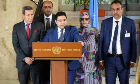 Le ministre des Affaires étrangères et de la coopération internationale affirme que le Maroc souhaite «l'adhésion des autres parties avec une réelle volonté, loin du langage du passé et des approches éculées»