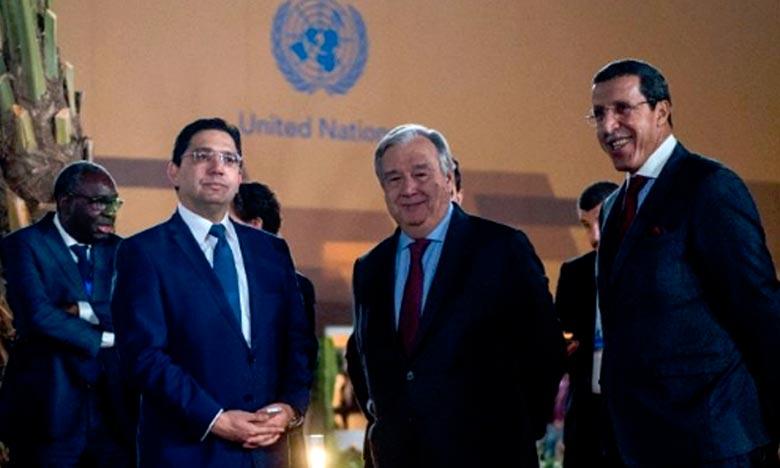 Cette adoption confirme que le Royaume du Maroc est le seul habilité juridiquement, dans le cadre de l'exercice de sa souveraineté, à négocier et signer des Accords incluant le Sahara marocain, a affirmé Omar Hilale. Ph : DR