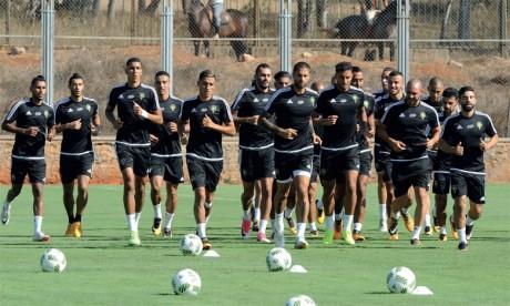 Un stage en deux étapes et deux matchs pour préparer la Coupe d'Afrique  des nations