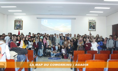 Franc succès de la première édition de la MAP du Coworking