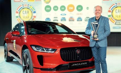 La Jaguar I-Pace sacrée «Voiture européenne de l'année»