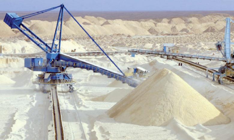 Le chiffre d'affaires d'OCP est principalement tiré par la croissance des ventes sur les segments des engrais et de l'acide phosphorique.