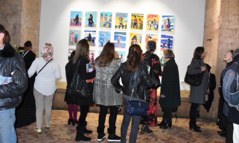 Malika Demnati : « J'avais envie de peindre ce Maroc que j'aime tellement»