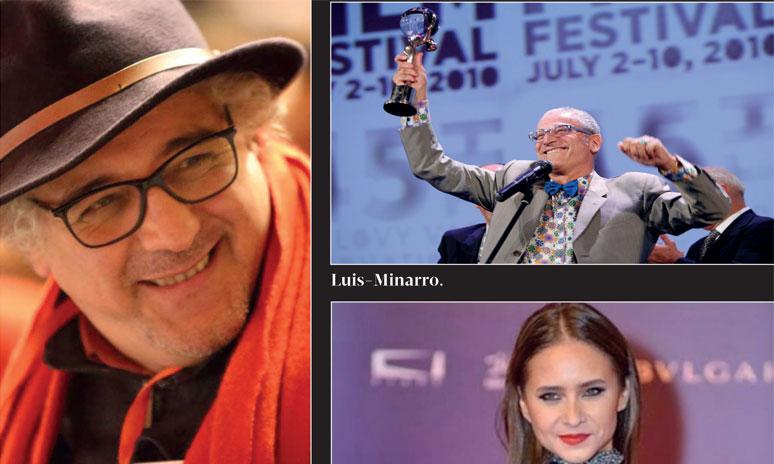 Hommage à Luis Minarro, Nelly Karim  et Mohamed Choubi