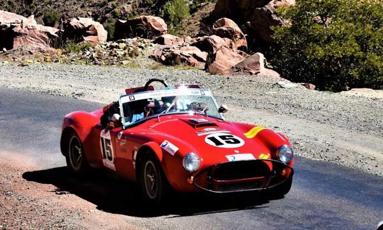 La Shelby Cobra de Figaret et Raynal passe le test du Tizi N'test  et s'adjuge le titre de la 26e édition