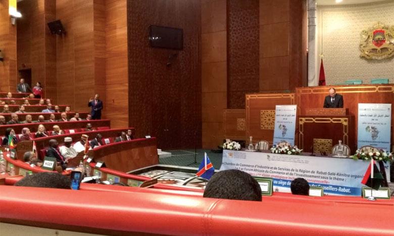 Tenue du 1er Forum africain du commerce  et de l'investissement