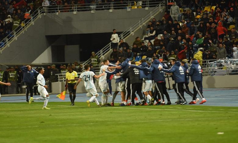 Défaite du Maroc face à l'Argentine