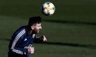 Lionel Messi revient en sélection d'Argentine après plus de huit mois d'exil. Ph : AFP