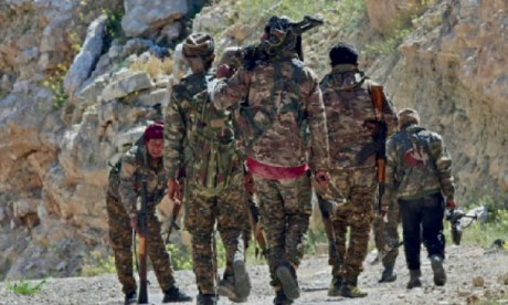 Reprise de la campagne militaire  sur le dernier carré jihadiste
