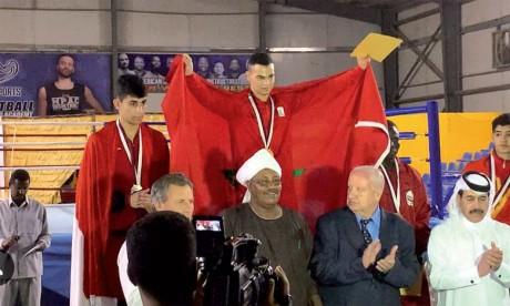 Six médailles au compteur, le petit frère de Mohamed Rabii s'adjuge l'or