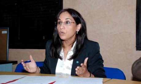 Amina Bouayach défend les droits des femmes à Genève