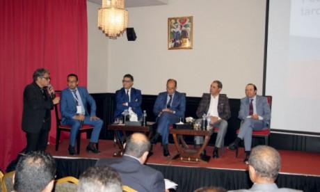 Sarouty.ma a organisé mercredi à Casablanca une rencontre pour échanger autour des moyens de relance du marché immobilier. Ph. Sradni