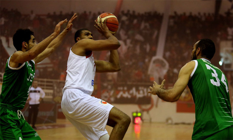 L'AS Salé maîtrise la JS Kairouan et valide son billet pour l'élite8 de la FIBA Africa Basketball League