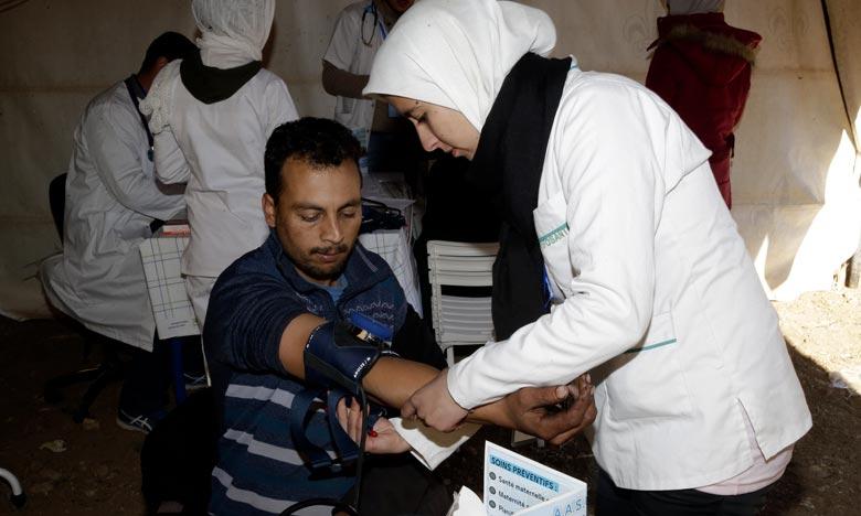 Azrou: campagne médicale en faveur de la famille de l'enseignement