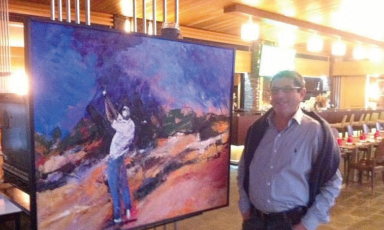 Feu Mohamed Berrada, artiste-peintre autodidacte.