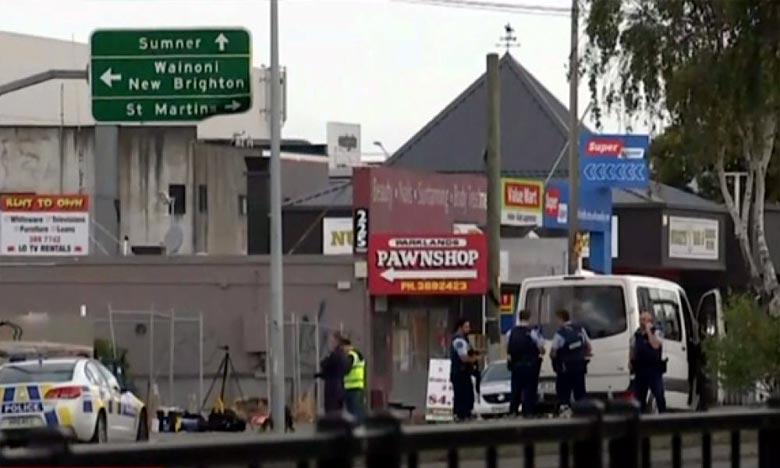 L'ambassade du Maroc est entré en contact avec des membres de la communauté marocaine résidant dans la ville de Christchurch, qui ont indiqué être sains et saufs. Ph : AFP