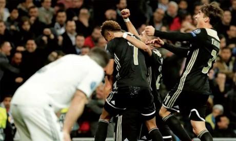L'Ajax gifle le Real et l'élimine dès les huitièmes