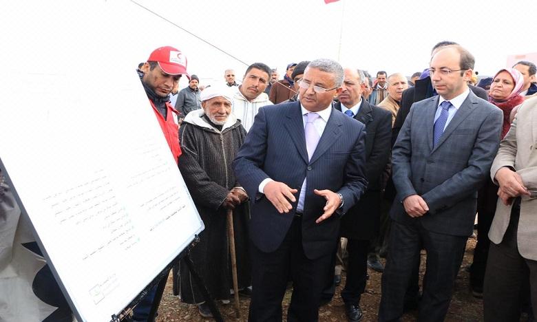 Le ministre de la Santé, Anas Doukkali, a dressé le bilan de l'opération «Riaya» hier dans le cadre d'une visite de terrain à Boulemane. Ph. DR
