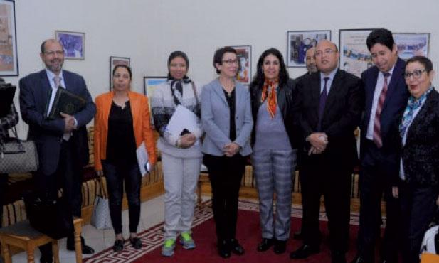 Lancement d'un projet dans les établissements scolaires de la région Marrakech-Safi