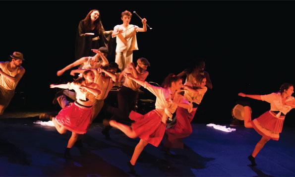 Le spectacle «Vive la vie» de la compagnie Interface inaugurera le festival le 22 mars au Studio des Arts Vivants.
