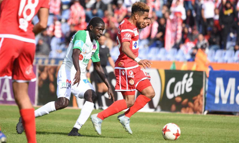 Le premier derby de cette saison s'est disputé au Grand stade de Marrakech.