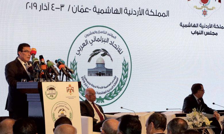 M.El Malki a mis en avant l'importance de prendre conscience de l'ampleur des défis auxquels est confrontée la nation arabe.