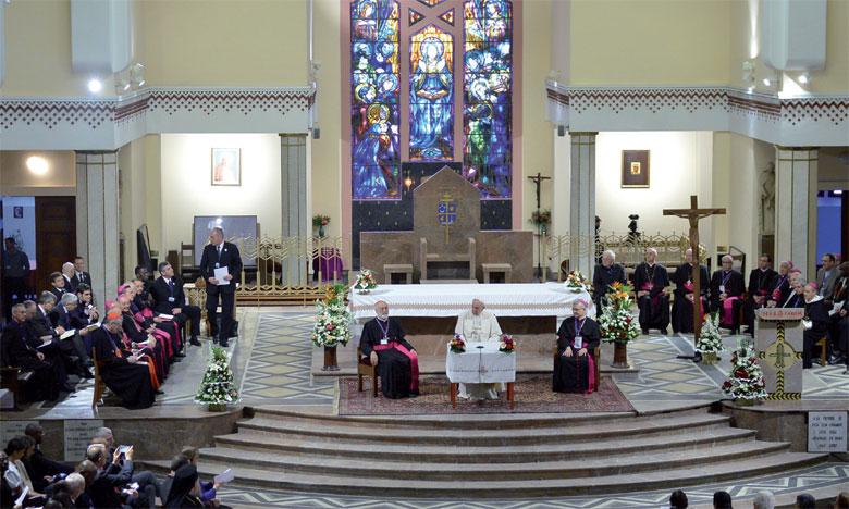 Le Pape François rencontre les prêtres,  les religieux et religieuses, les consacrés  et le Conseil œcuménique des Églises