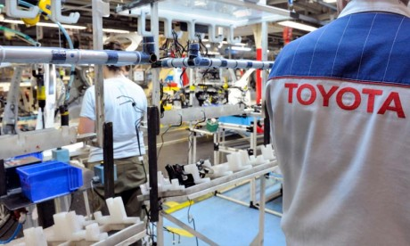Toyota envisage d'interrompre sa production au Royaume-Uni