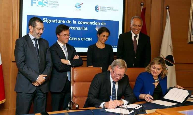 La FCS et la CFCIM engagées pour la promotion des métiers de la vente